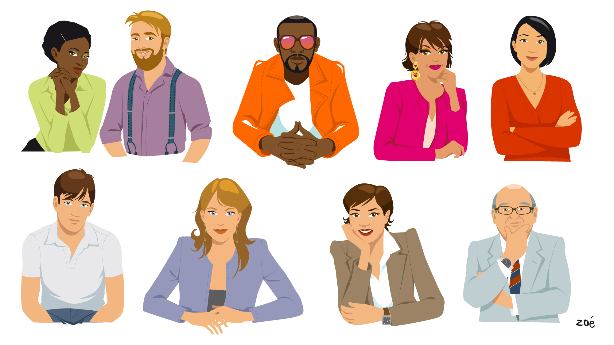 AMEX personnages