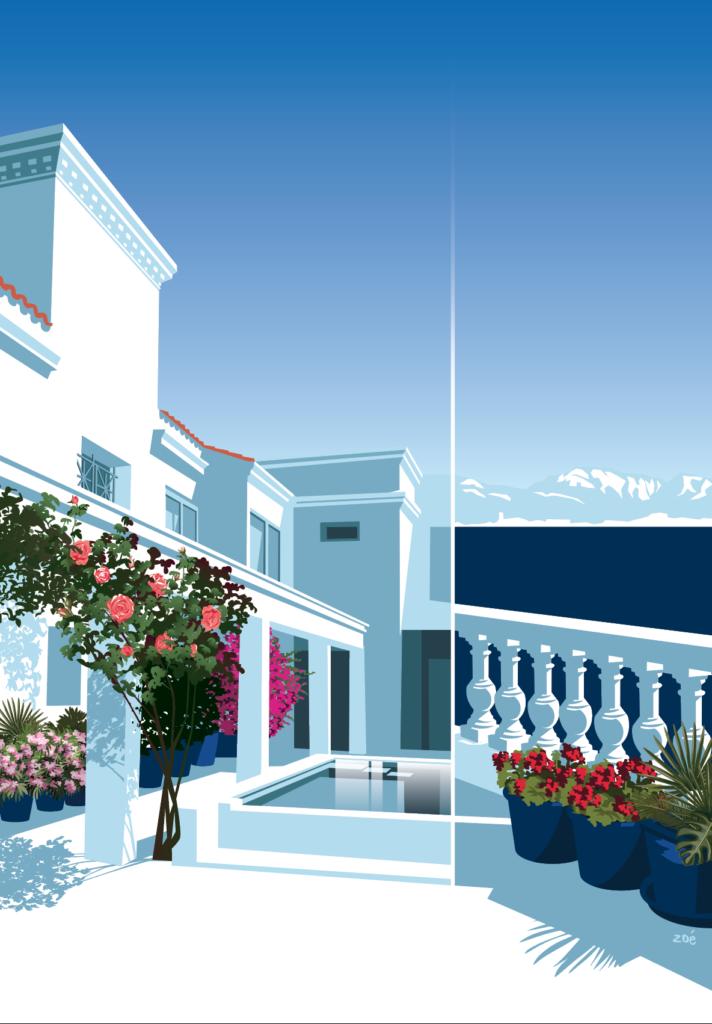 illustration maison marseille