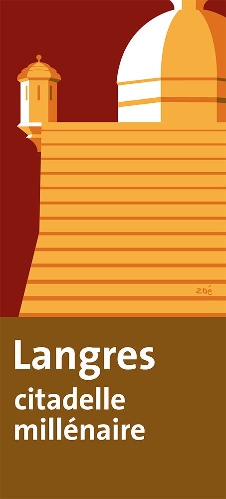 illustration autoroute APRR Langres citadelle