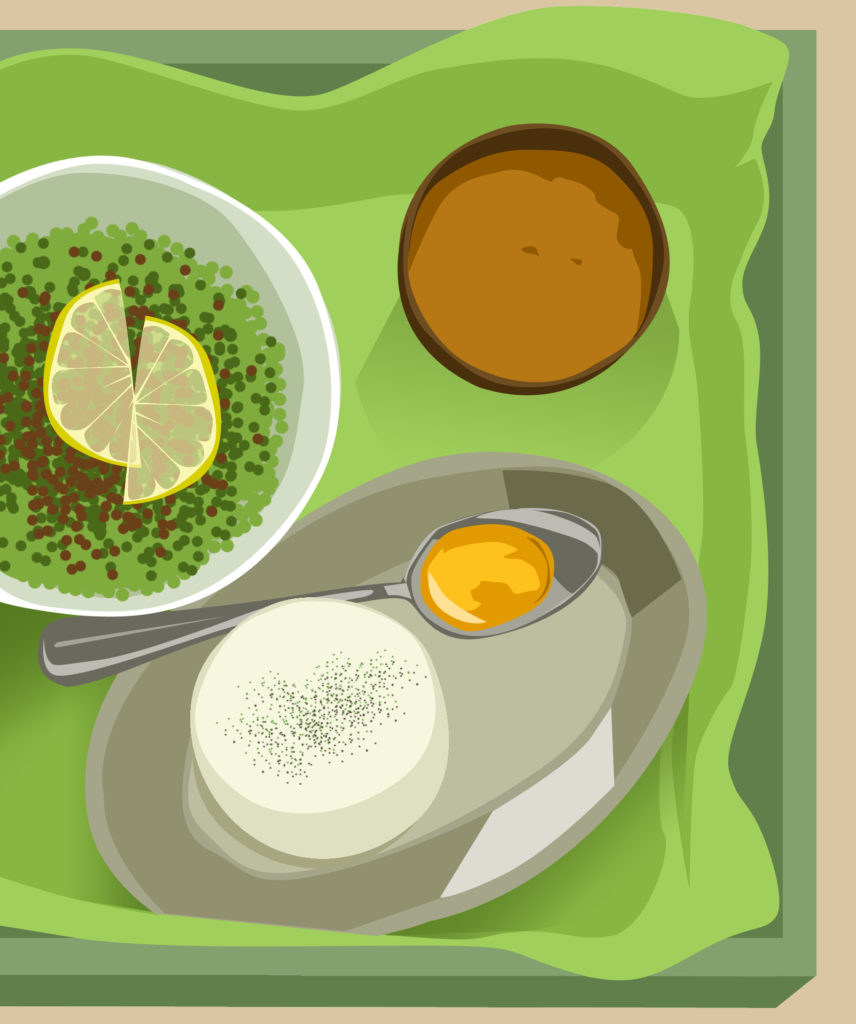 illustration fooding