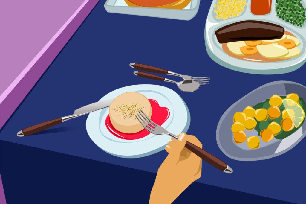 illustration repas