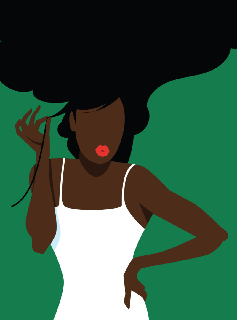 illustration coiffure