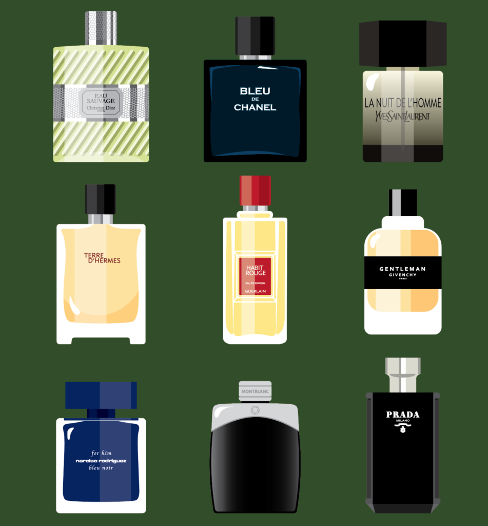 illustration parfums