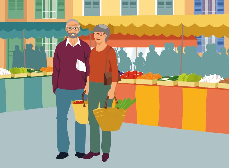 illustration Seniors